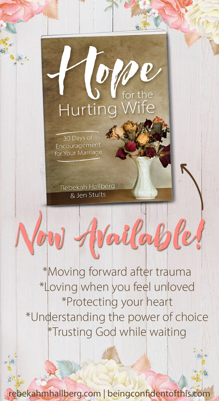 In a day when marriages quickly end in divorce, where do hurting wives who want to stay married turn? Hope for the Hurting Wife is written by two women who have lived through the dark and difficult times in marriage. Through personal stories and biblical insight, they encourage all women to fight for hope in their marriages! hope for marriage|marriage crisis|Christian marriage|devotional|godly wife|unloved|divorce|encouragement|inspirational|marriage book|marriage help