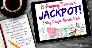 Prayer resource bundle - 5 resources to help you pray over your children and your marriage! #Christianwomen #prayingwomen #prayerguide #prayerprintables