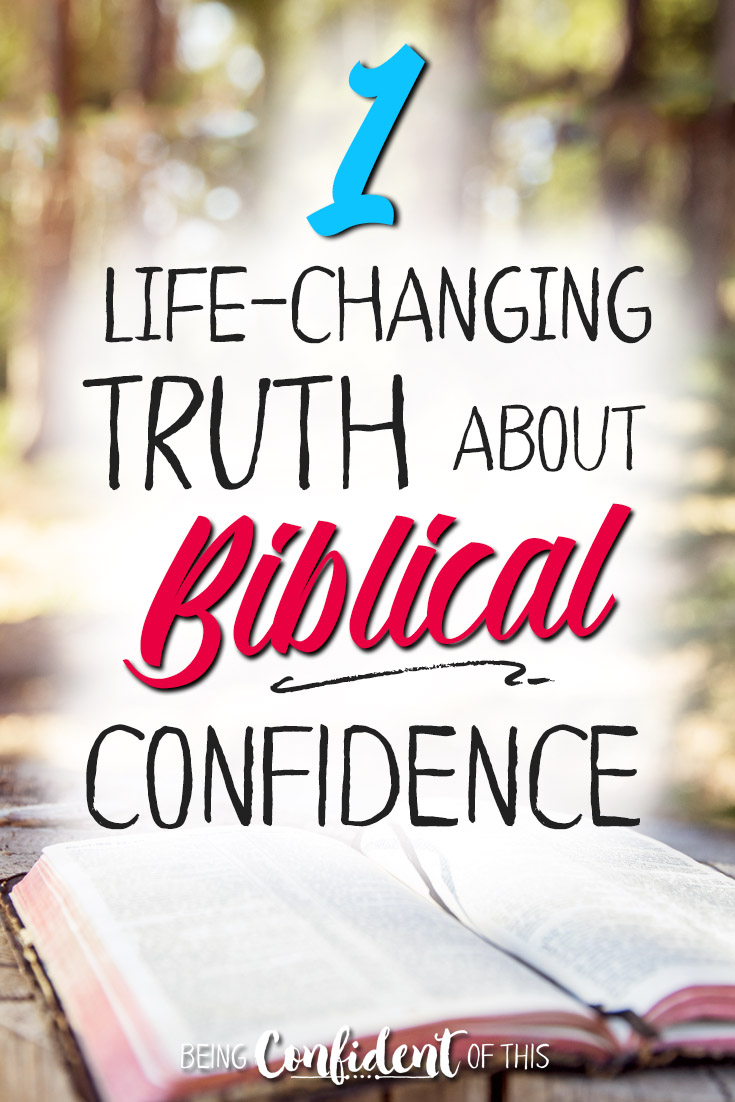 There's one thing you need to know about real confidence! #BeingConfidentofThis #devotional #womenoftheWord #Bible giveaway | book launch | God's Word | the Bible |confidence | assurance | encouragement | Christian women | spiritual growth | identity in Christ | leadership | grace | women of faith