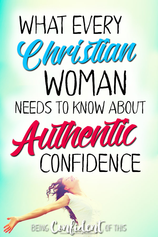 Where does real confidence come from for Christian women? We cannot experience God's abundant life without understanding this foundational truth! #BeingConfidentofThis #confidentChristianwoman #biblicaltruth #Bible Christian women | how to be confident | insecurity | confident faith | fear | doubt | biblical truth | bible study | Christian growth | discipleship |God's plans |book release | giveaway