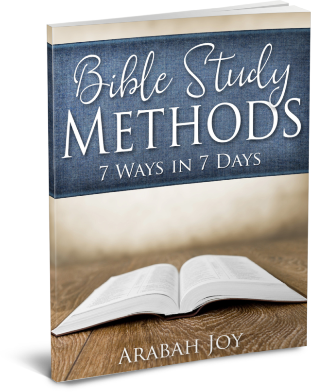 Need help learning to study God's Word? Or perhaps you're an experienced believer who simply wants a fresh way to look at Scripture? Bible Study Methods teaches 7 different ways to do personal Bible study. Dig into the Scriptures for yourself! #biblestudymethod #spiritualdisciplines #Biblereading #Christiangrowth Christian women | how to study the Bible | Being Confident of This | more confident faith | studying God's Word | Scripture reading | Bible verse | growing in faith | mature Christians