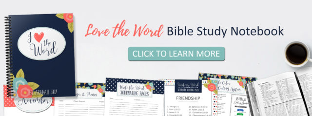 Do you struggle to know where to start when studying God's Word? Or is your quiet time becoming stagnant or boring? The Bible Study Notebook contains a year's worth of Bible study helps, methods, and plans! #biblestudy #benefitsofbiblestudy #faith #spiritualgrowth The Benefits of Bible Study series from Being Confident of This - learn the benefits of studying God's Word. Christian women | growing in Christ | understanding the Bible | bible notebook | bible study printables | bible study methods