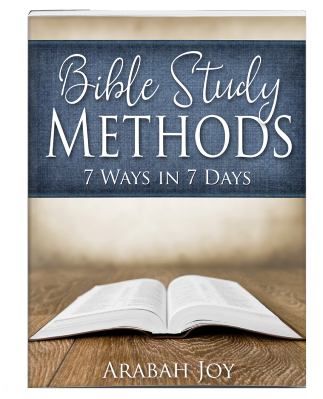 How to Study the Bible: 4 Resources | Being Confident Of This