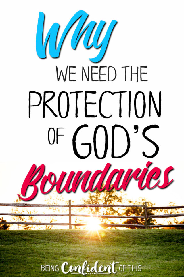 "Christians are often tempted by ""greener grass"" without realizing the dangers. God's boundaries are for our own protection! #boundaries #greenergrass #biblestudy #christiangrowth Being Confident of This 