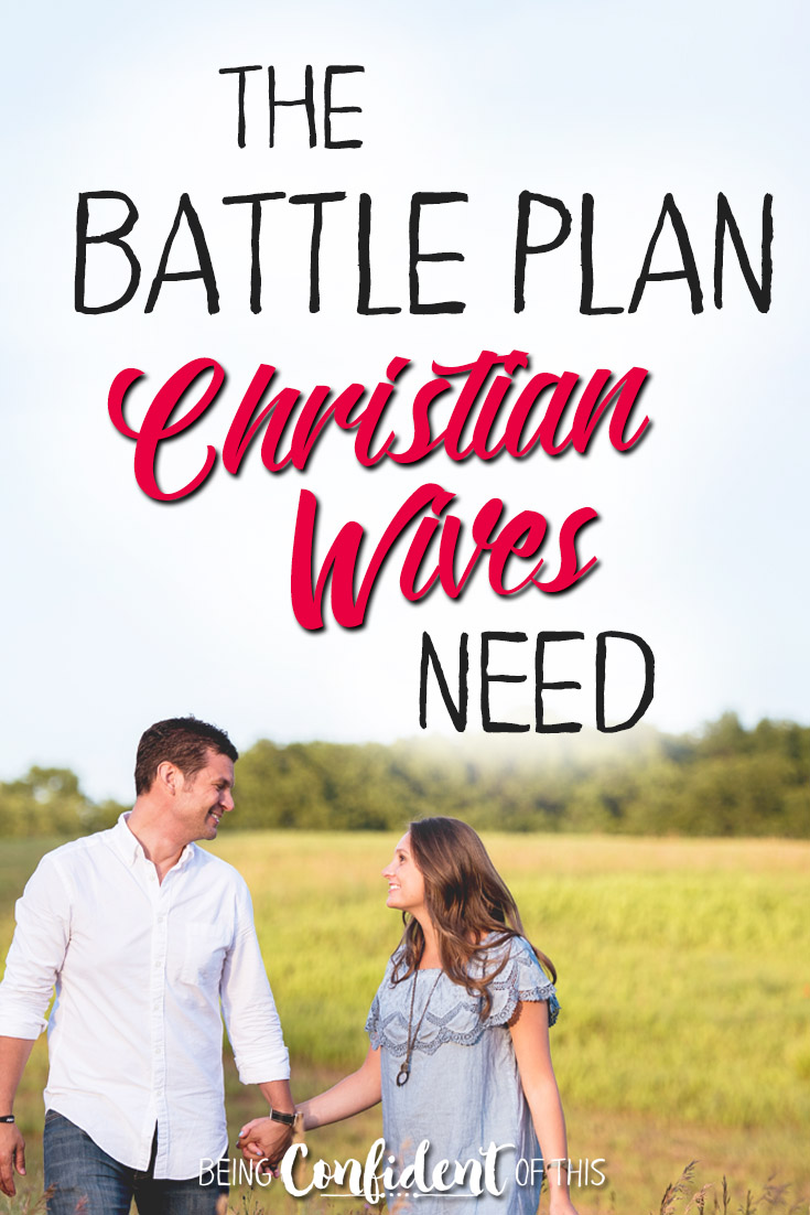 If marriage is a gift, why isn't it easier? The Battle Plan Christian Wives need will prepare you to face tough times! #marriage #marriageadvice #godlywife Being Confident of This - Jen Stults | Bible study | devotional | christian women | encouragement | spiritual growth | christian growth | marriage tips | christian marriage | hope for hurting wife | hope for marriage online event | biblical marriage | christian wife