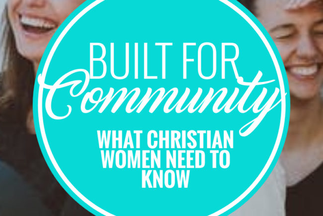 """Man Down"" – Built for Christian Community"